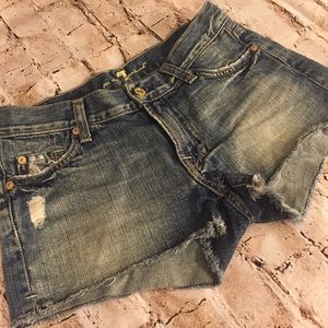 7 For All Mankind Boy Shorts